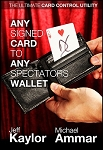 Card in Wallet - Any Card to Any Spectator's Wallet