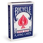 Bicycle Brand Playing Cards - Poker Size (Blue)