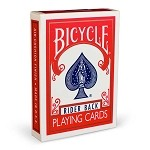 Bicycle Brand Playing Cards – Poker Size (Red)