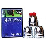 Easy To Learn Magic Tricks - Cups & Balls w/DVD