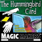 Hummingbird Card - Floating Card