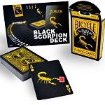 Black Scorpion Deck - Bicycle Brand