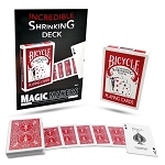 Incredible Shrinking Deck - Bicycle Cards