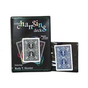 Colour Changing Deck - with DVD instructions & Gimmick