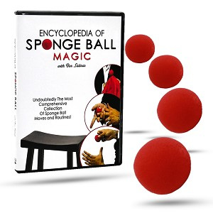 Encyclopedia of Sponge Ball Magic - DVD with Sponge Balls included