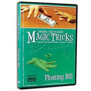 Floating Bill Magic Trick with DVD instructions