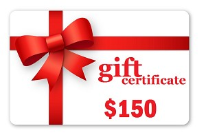 $150.00 Gift Certificate
