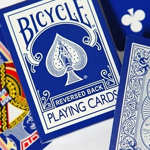 Blue Ice (Reversed) Bicycle Deck