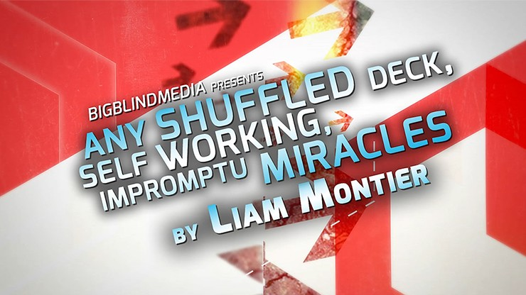 Any Shuffled Deck - Self-Working Impromptu Miracles by Big Blind Media