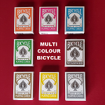 Multi Colour Bicycle Cards