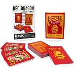 Red Dragon Bicycle Deck