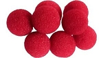 Soft Mini Sponge Balls - Red