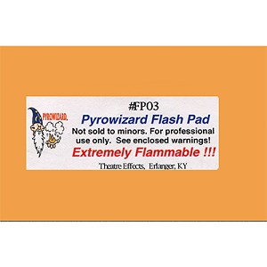 "Flash Paper - 2"" x 3"" - 20 sheet pad"