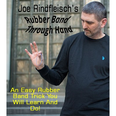 Rubber Band Through Hand by Joe Rindfleisch