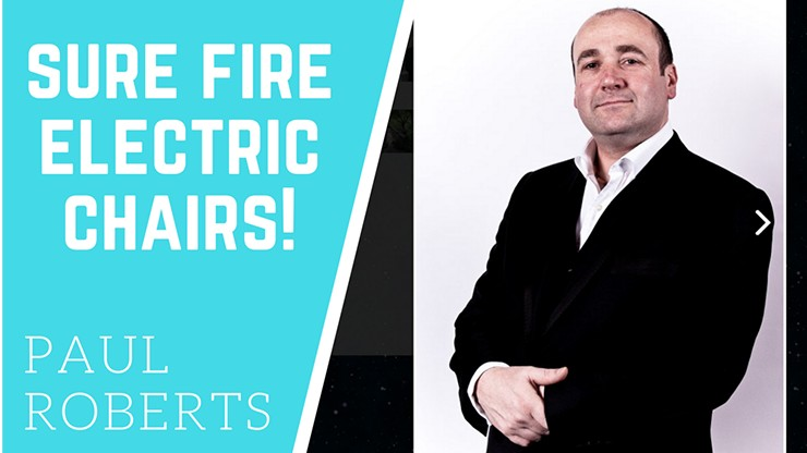 Sure Fire Electric Chairs by Paul Roberts