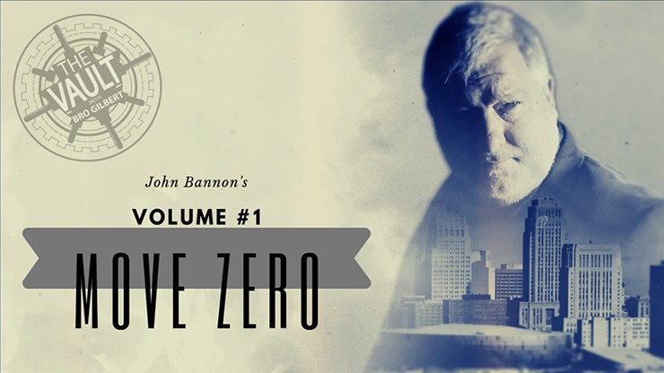 Move Zero Volume #1 by John Bannon